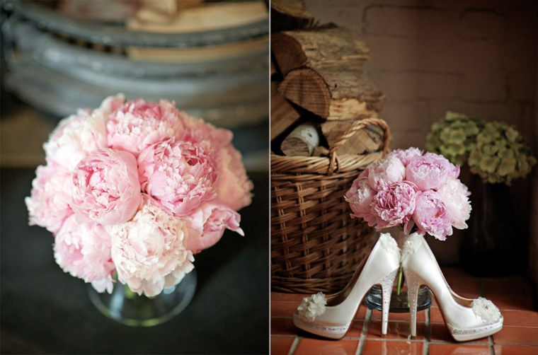 Flowers and shoes. A winning combination!