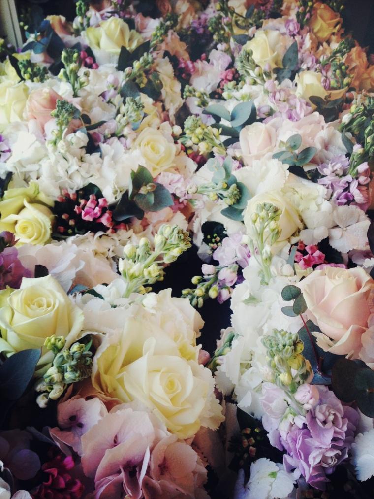 Table fleurs