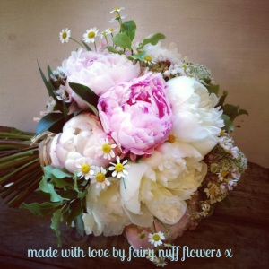 Bridal bouquet at Northbrook Park